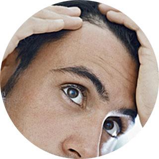 Waxing Men's Hairline