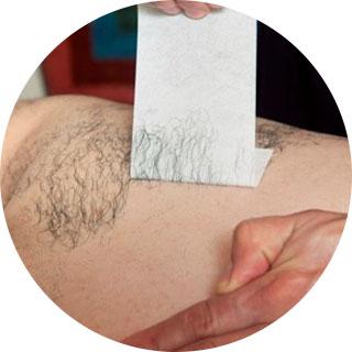 Waxing Men's Lower Back/ Tramp Stamp